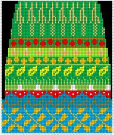 Viirukissan väkerryksiä: Syksysukkien ruutupiirros Knitting Stitches, Knitting Patterns, Fair Isle Pattern, Fair Isle Knitting, Textiles, Mittens, Knit Crochet, Cross Stitch, Socks
