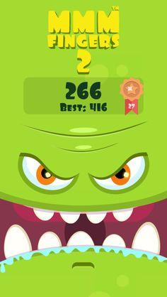 I scored 266 points in Mmm Fingers 2! Can you beat my score? #mmmfingers2