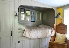 Pocket : Bedroom: Paneled Alcove Bed Roundup by Julie Carlson