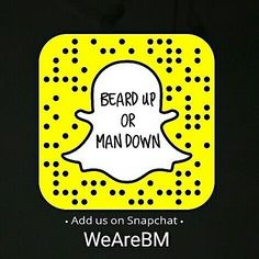 via @beardmuscles: Add us on snapchat: WeAreBM for much more beards quotes and fashion