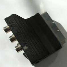 Euroconector entradas RCA/svhs