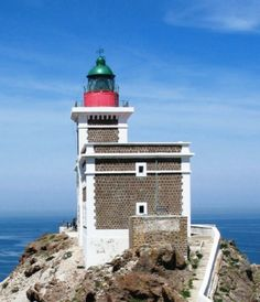 Cap des trois fourches lighthouse, Morocco I book travel! Land or Sea! http://www.getawaycruiseplanner.com