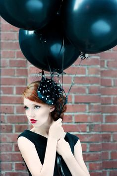 i love these big fat black balloons Big Balloons, Black Balloons, Colourful Balloons, Red Balloon, Mylar Balloons, Latex Balloons, Balloon Party, Flying With A Baby, Black Bride
