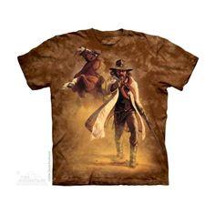 Sheriff Felnőtt Amerikai The Mountain Póló