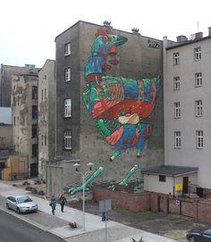 Graffitis et Illustrations / Aryz | AA13 – blog – Inspiration – Design – Architecture – Photographie – Art