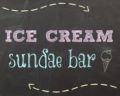 Crafty Confessions: FREE Ice Cream Sundae Bar Printables
