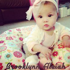 Brooklyn cute as a princess