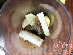 간장 돼지등뼈찜 황금레시피 :: 어마어마한 양이니 놀람주의 : 네이버 블로그 Feta, Dairy, Cheese