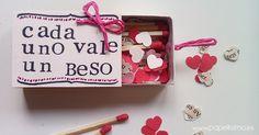 Empaques de regalo para San Valentín , post colaborativo