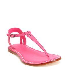 Take a look at this Pink Leather Madonna Sandal by Bernardo on #zulily today!