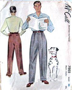 Vintage Mens Patterns 49