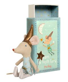 Maileg Mouse Tooth Fairy Boy in Matchbox