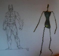 Batman Wip - Original project by Paolo Giannico