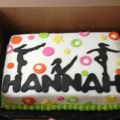 Gymnastics Cake Birthday Ideas cakepins.com