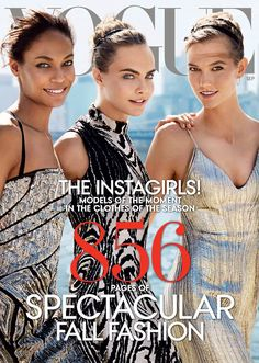 The Instagirls by Mario Testino for Vogue September 2014