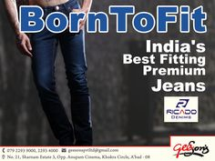 Born To Fit  India's Best Fitting Premium Jeans - Ricado Jeans  #DenimLycra #Ricado #Cotton #jeans #Ricadojeans