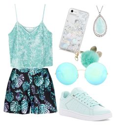 """""""Untitled #64"""" by kennise1 on Polyvore featuring MANGO, K-Swiss, Skinnydip and Victoria Beckham"""