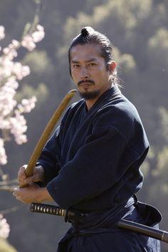 Hiroyuki Sanada....loved him in the Last Samurai!