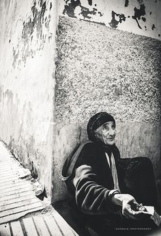 Her face reflects the years..  Street Photography  |  Essaouira  |  Morocco  |  2013