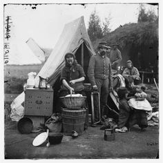 Tent life of the 31st Penn. Inf. (later, 82d Penn. Inf.) at Queen's farm, vicinity of Fort Slocum, unknown photographer (Library of Congress)