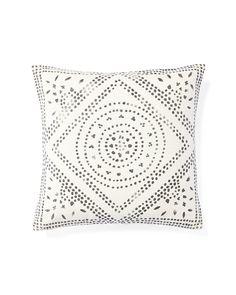 Camille Diamond Medallion Pillow CoverCamille Diamond Medallion Pillow Cover