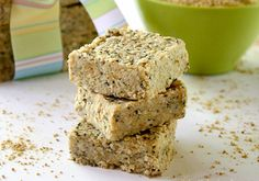 Here is a recipe for Raw Hemp and Chia Seed Bars, which is a healthy and nutrient-dense raw food snack.  They pretty much have all my favorite ingredients...hemp seeds, chia seeds, coconut oil, and nut butter. Loaded with protein, calcium, healthy fats and fiber, these bars are perfect for snacks or even as a breakfast bar.