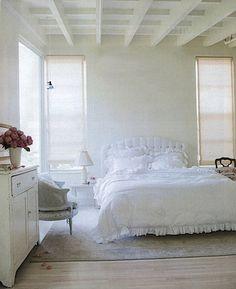 white bedrooms!