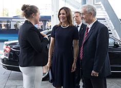 Crown Princess Mary attended the CBS Responsibility Day event