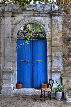 blue door | Flickr - Photo Sharing!