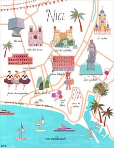 Josie Portillo - Map of Nice