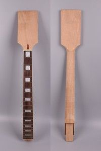 Guitar Maple Guitar Neck 24fret Canada Maple 25.5inch Unfinished Ebony Fretboard Cool In Summer And Warm In Winter Stringed Instruments