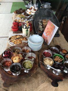 Our Tastings table.