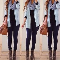 Casual style with easy winter fashion and cute outfits for winter Winter Mode Outfits, Winter Fashion Outfits, Casual Fall Outfits, Casual Winter Outfits, Simple Outfits, Look Fashion, Autumn Winter Fashion, Cute Outfits, Fashion Black
