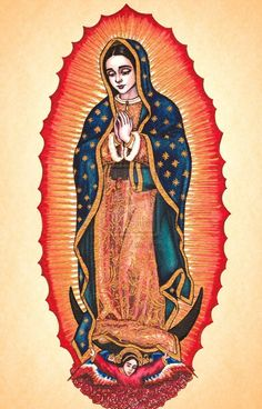 Our Lady of Guadalupe by Theophilia