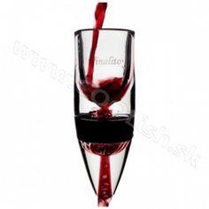 Originálny darček Dekantér na víno Vinalito Red Wine, Alcoholic Drinks, Glass, Drinkware, Corning Glass, Liquor Drinks, Alcoholic Beverages, Liquor, Yuri