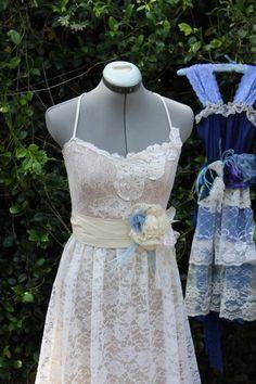 The Audrey Style- Long Eco Lace Long Dress