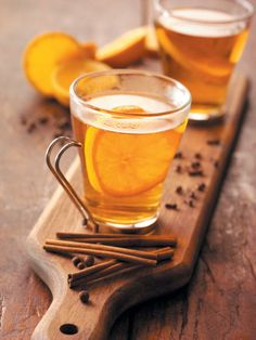 Crockpot mulled cider - sounds good to me!