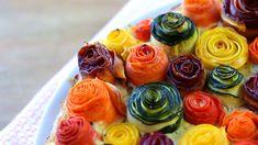zucchini rose tart20