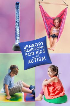 Sensory Bedrooms for Kids with Autism