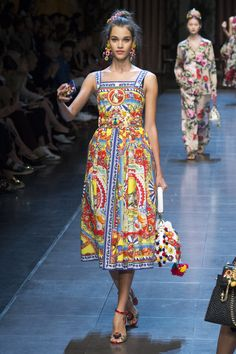 Pauline Hoarau for Dolce & Gabbana S/S 2016