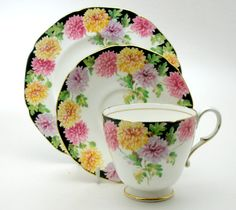 Paragon MUMS Bone China Trio Teacup Saucer by JaynesVintageTeashop