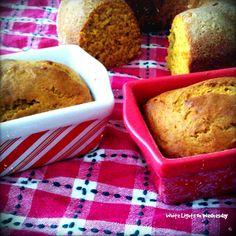 White Lights on Wednesday: Pumpkin Bread