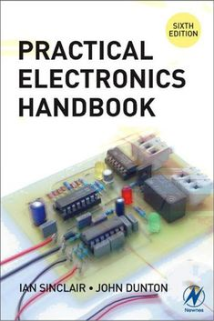 Practical Electronics Handbook - Combines useful day-to-day electronics information, explanations and practical guidance. This book is a useful companion to those involved in electronics design and construction. Product Features New Mint Condition D Basic Electronic Circuits, Electronic Circuit Design, Electronic Schematics, Electronic Books, Electronic Devices, Electronics Mini Projects, Electronics Basics, Kids Electronics, Electronics Components
