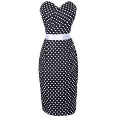 Maggie Tang Women's 1950s Vintage Pencil Dress ($9.99) ❤ liked on Polyvore featuring dresses, blue pencil dress, pencil dress, vintage dresses, vintage pencil dresses and vintage day dress