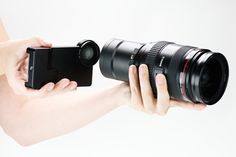 cannon lense adapter for iphone