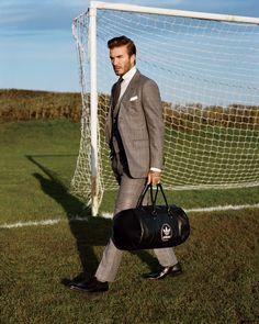 Photos: David Beckham's GQ Cover Shoot   GQ
