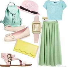Pastel set | Women's Outfit | ASOS Fashion Finder