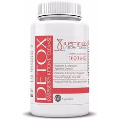 Raspberry Ketones Detox Cleanse Promotes Weight Loss and Healthy Digestion 60 Capsules from Justified Laboratories http://amzn.to/22bKi41 #justifiedlabs  #raspberryketones #coloncleanse #vovcyan