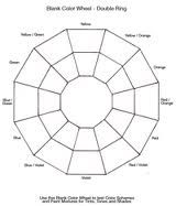 color wheel template
