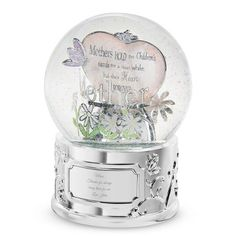 Personalized Mom Snow Globe , Add Your Message